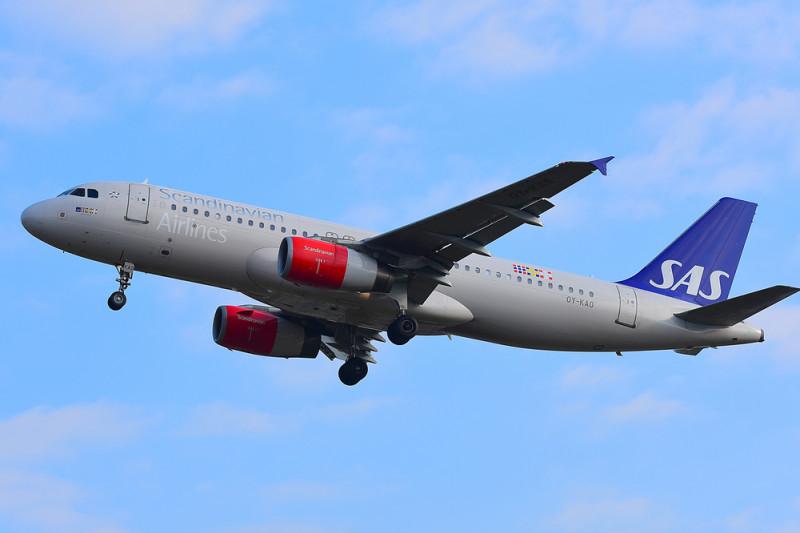 avion Scandinavian Airlines Systems