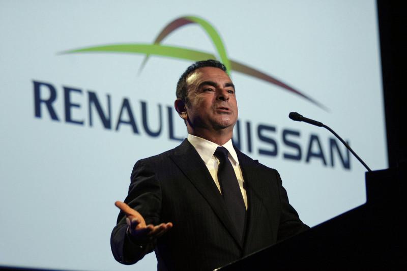 Nissan CEO Carlos Ghosn Addresses Automotive News World Congress
