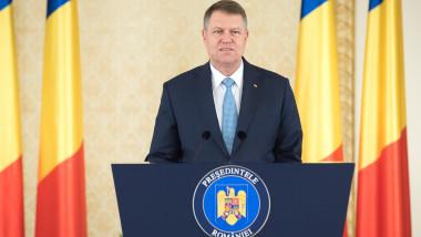 iohannis la cotroceni declaratie - presidency.ro