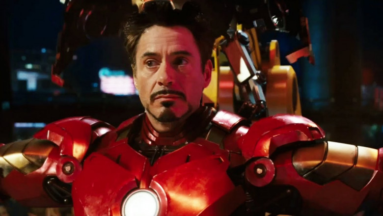robert downey ironman