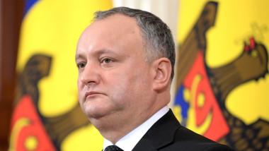 Dodon mulţumeşte călduros Guvernului român