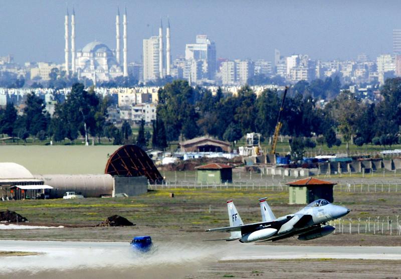 Activity At Incirlik Air Force Base Increases As It Prepares For War