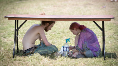 Festival Goers Enjoy Glastonbury 2017 - Day One