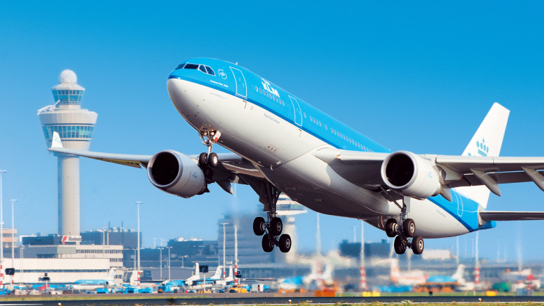 avion al companiei klm