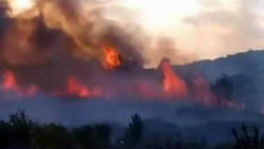 incendiu muntenegru