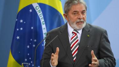 Brazilian President Lula Da Silva On Berlin Visit