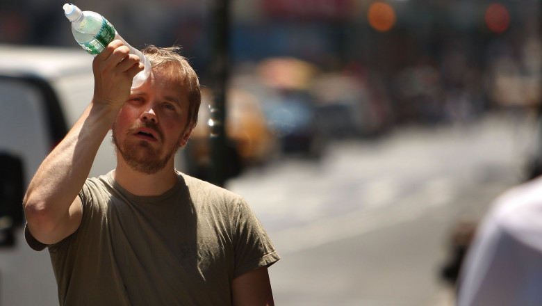 New York City Hit With Stifling Record Heat