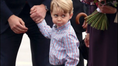 PRINTUL GEORGE CROP GETTY