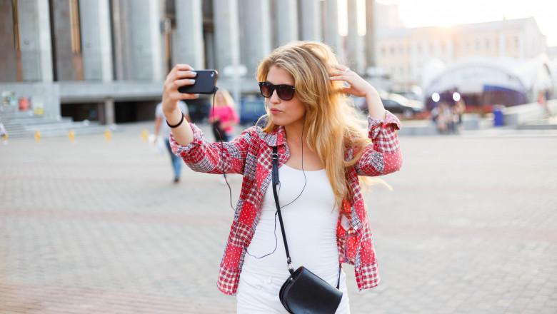 vacanta selfie in vacanta calatorie