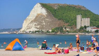 plaja bulgaria kavarna litoral vacanta