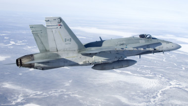 CF-18 from 410 Squadron