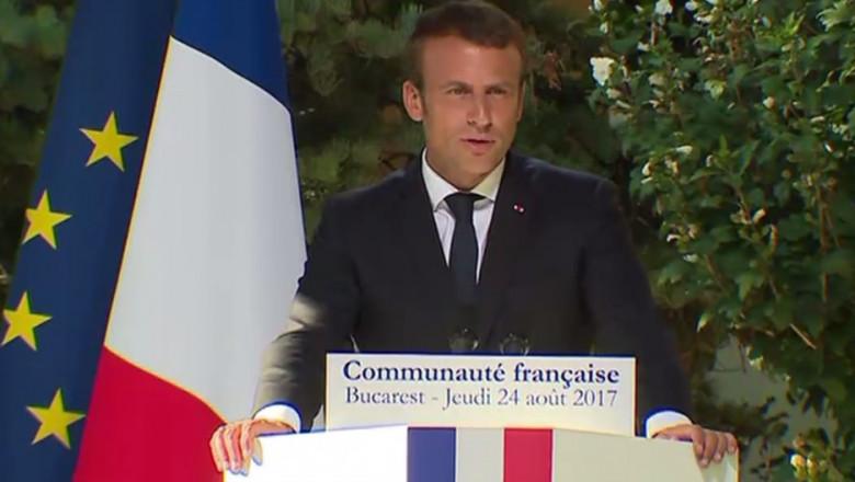 macron comunitate franceza