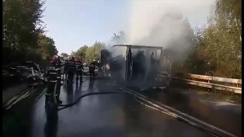 incendiu TIR