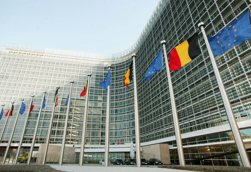 EC Berlaymont Headquarters Unveiled In Brussels