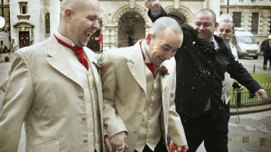 Belfast Couple Hold UKs First Gay Wedding