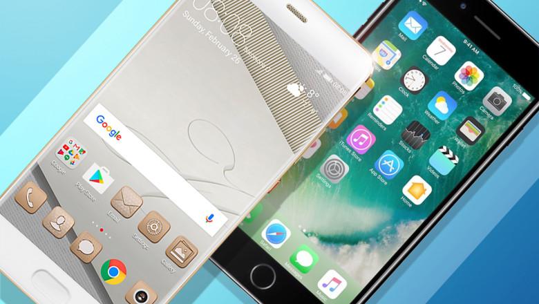 huaweip10 iphone7