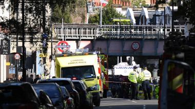 Terror Incident At Parsons Green Underground Station