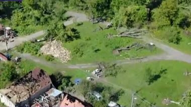 imagini drona furtuna arad