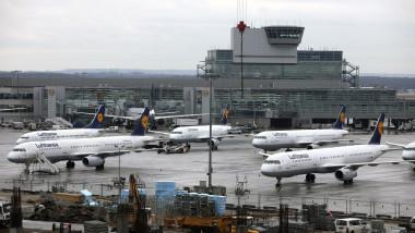 Lufthansa Pilots On Strike