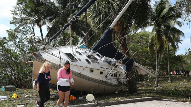 Powerful Hurricane Irma Slams Into Florida