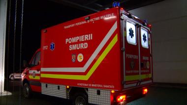 pompierii SMURD ambulatna