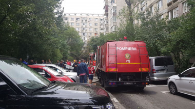 incendiu Bucuresti sursa ISU 260917