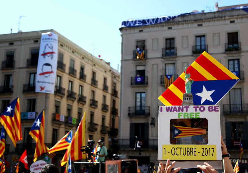 Catalan Mayors Backing Independence Referendum Meeting