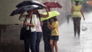 Ploi torențiale și furtuni