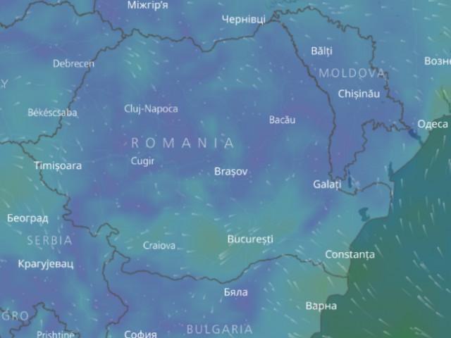 Hartă Interactivă Cum Se Vede Din Satelit Ciclonul Care Lovește