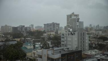 Hurricane Maria Bears Down On Puerto Rico