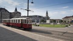 tramvai de epoca Oradea
