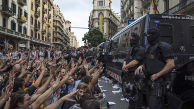 Aftermath Of The Catalonian Independence Referendum