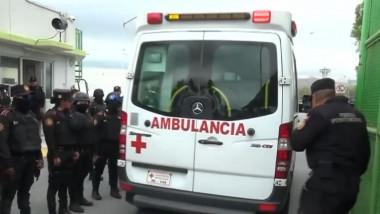 ambulanta mexic revolta inchisoare