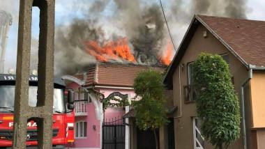 incendiu casa Oradea (1)