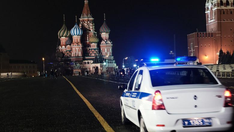 politia rusia politie rusa masina moscova getty