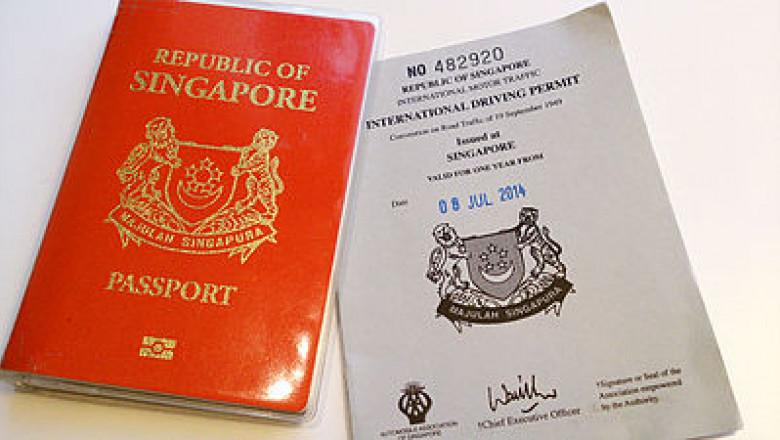 pasaport singapore