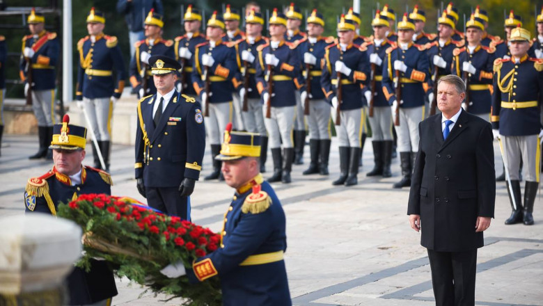 iohannis ziua armatei presidency