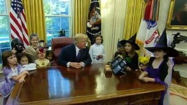 trump si copiii