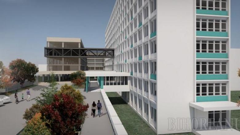 cladire nou Spitalul Municipal Oradea proiect