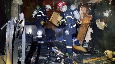 incendiu Satu Mare apartament