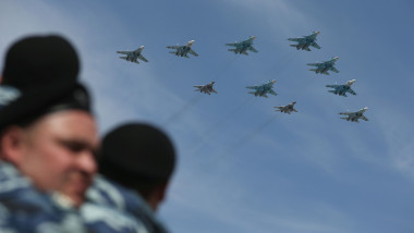 Moscow Celebrates Victory Day 70th Anniversary