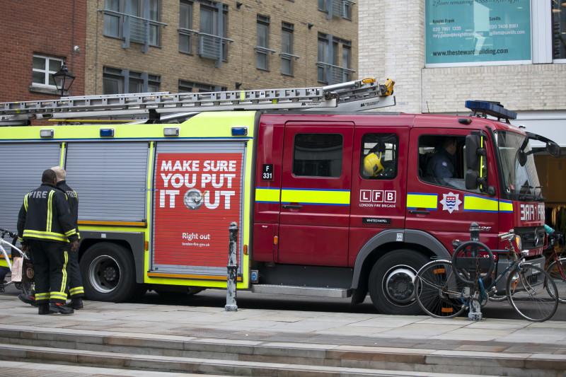 masina pompieri londra