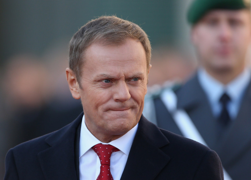 Merkel And Tusk Meet For Government Consultations
