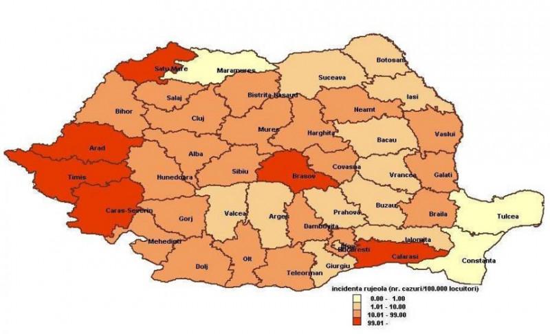 46 De Cazuri Noi De Rujeolă întregistrate în România în Ultimele