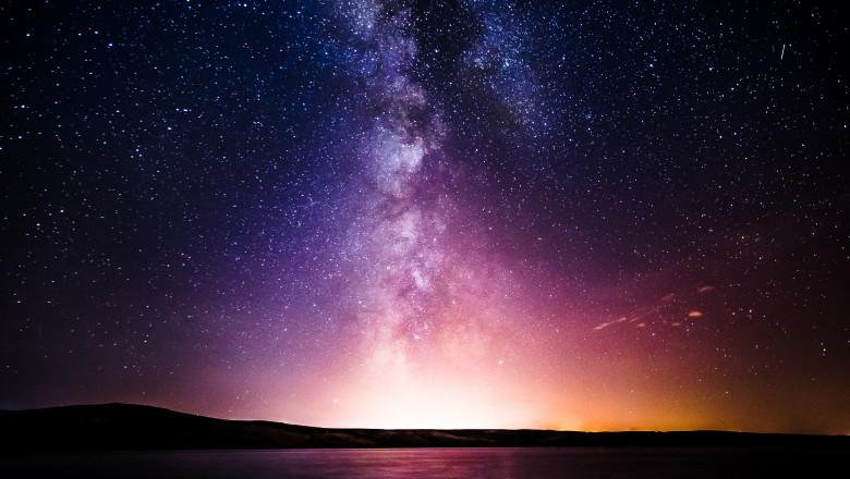 calea lactee cer noapte stele