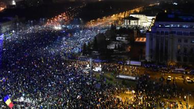 proteste februarie piata victoriei