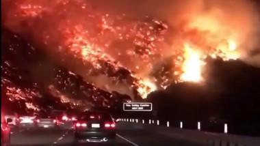 incendiu california ventura