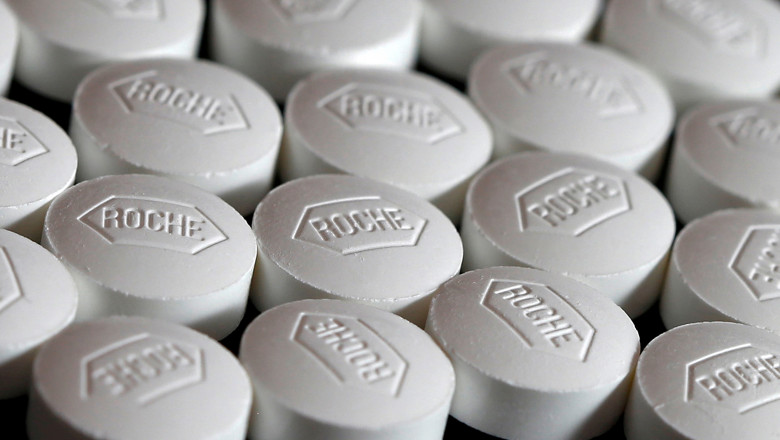 File photo illustration of Roche tablets