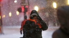 Blizzard Barrels Into New York City
