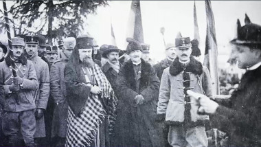 unirea 1918 imagine veche